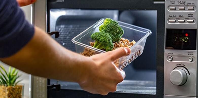 bagaimana cara menggunakan microwave