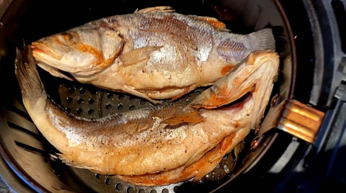 goreng ikan air fryer