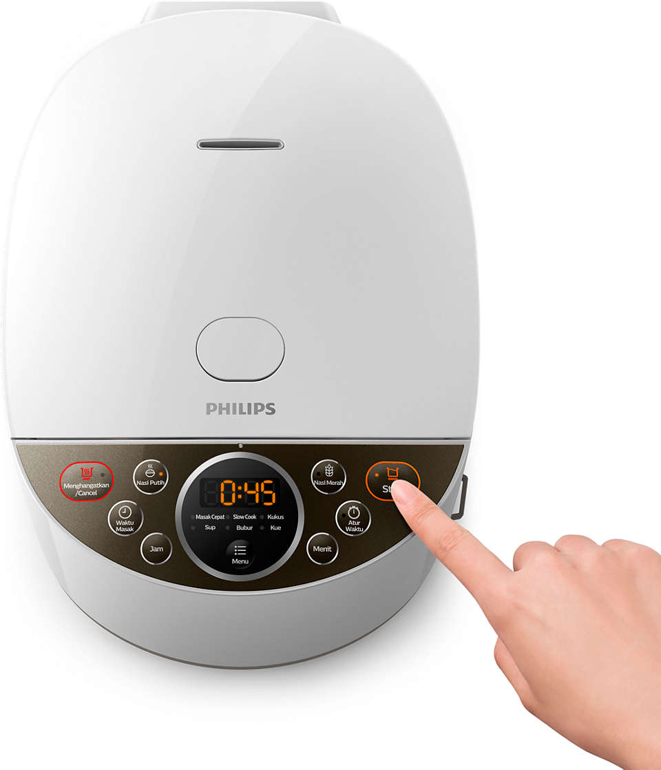 review rice cooker philips